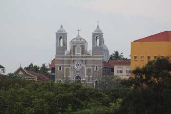 St. Mary's Cathedral, Galle, Sri Lanka